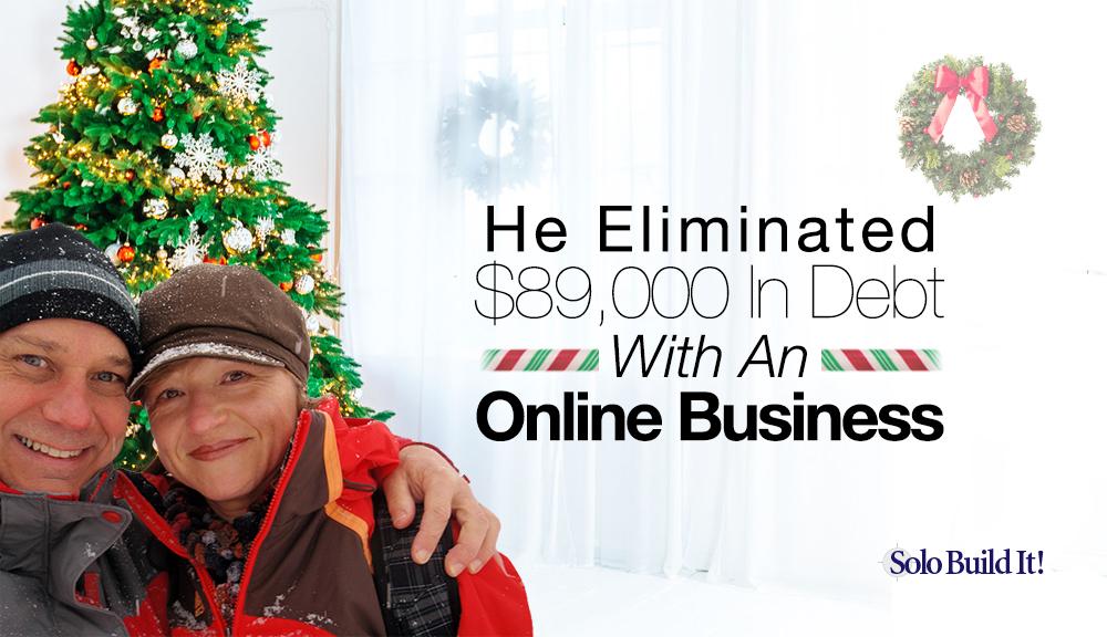 eliminate debt jpeg with a niche business idea