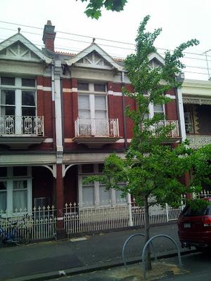 Parkville Terrace with balcony